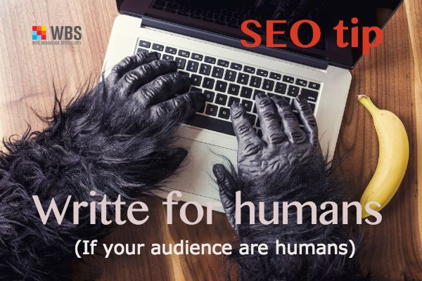 Optimise your content for humans