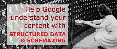 structured data & schema.org